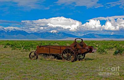 Photograph - Summer in Sangre de Cristos Colorado Mountains by Sherry Little Fawn Schuessler