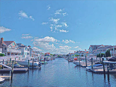 Surrealism Royalty-Free and Rights-Managed Images - Summer on the Bay by Surreal Jersey Shore