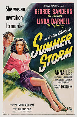 Royalty-Free and Rights-Managed Images - Summer Storm, 1944 - c by Stars on Art