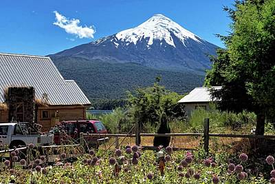 Amy Weiss - Summertime under Osorno Volcano by Heidi Fickinger
