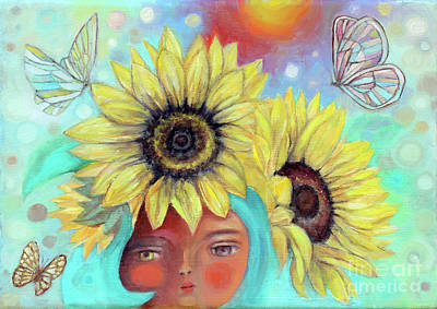 Painting - Sun Child by Manami Lingerfelt