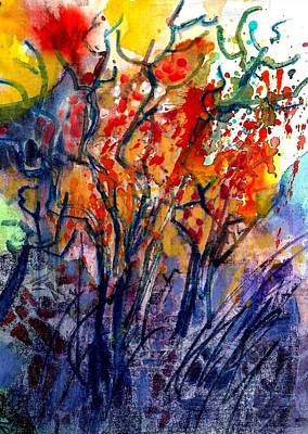 Painting - Sunday Morning Woods by Jack Loeb