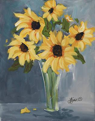Painting - Sunflowers by Terri Einer