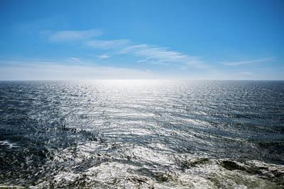 Rowing - Sunny Pacific Ocean by Pelo Blanco Photo