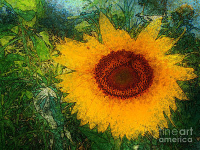 Grimm Fairy Tales - Sunnyflower by Katherine Erickson