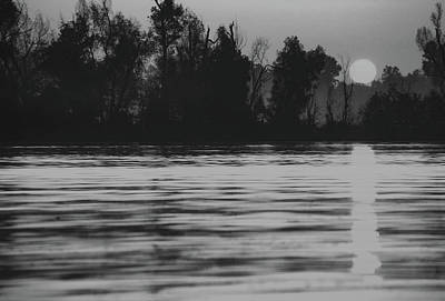 David Bowie Royalty Free Images - Sunrise at Dacus Lake in Arkansas Royalty-Free Image by James C Richardson