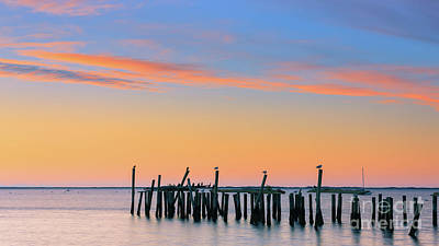 Photograph - Sunrise At Provincetown, Cape Cod by Henk Meijer Photography