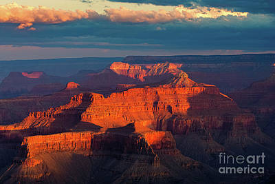 Photograph - Sunrise At The South Rim, Grand Canyon N.p. by Henk Meijer Photography