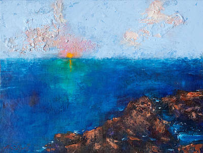 Painting - Sunset in C Minor by Mary Benke