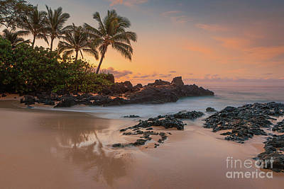 Photograph - Sunrise on Maui by Henk Meijer Photography