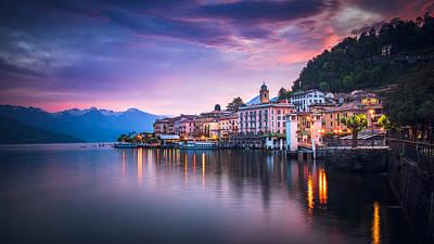 Photograph - Bellagio Sunrise by Heyengel