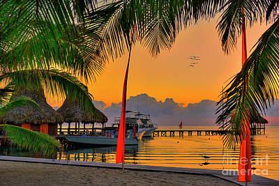 Lake Life - Sunrise Retreat in Paradise by David Zanzinger