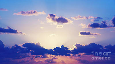 Royalty-Free and Rights-Managed Images - Sunrise Sky by THP Creative