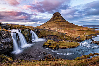 Old Masters - Sunset at Kirkjufell by Alexios Ntounas