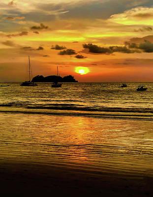 Safari - Sunset at Playa Hermosa II by Stephen Anderson