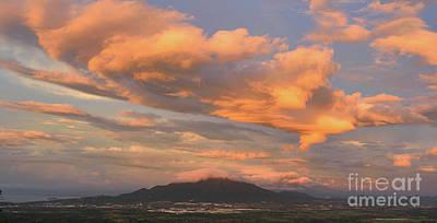 Pasta Al Dente - Sunset Over Mount Makiling by Yinguo Huang