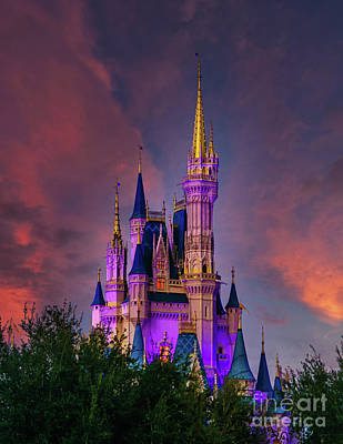 Easter Egg Hunt - Sunset at the Castle by Nick Zelinsky Jr