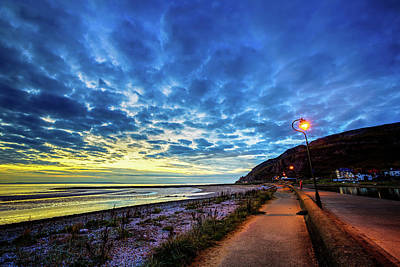 Crazy Cartoon Creatures - Sunset at West Shore, Llandudno by Ian Good