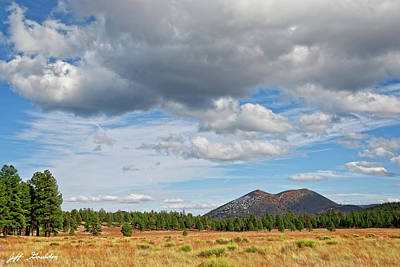 Photograph - Sunset Crater from Bonito Park by Jeff Goulden