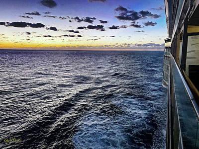 Keith Richards - Sunset Cruise by GW Mireles