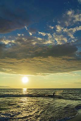 Photograph - Sunset Fisher by Dave Matchett
