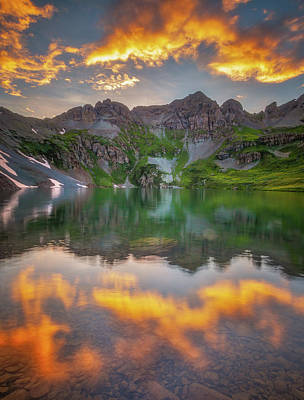 Royalty-Free and Rights-Managed Images - Sunset in the San Juans by Darren White