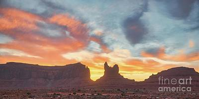 Rose - Sunset in Utah by Andrea Anderegg