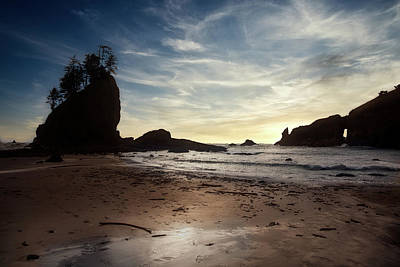 Graduation Sayings - Sunset on 2nd Beach at La Push by Ian Good