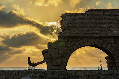 Advertising Archives - Sunset over the Mediterranean 2 by Dimitry Papkov