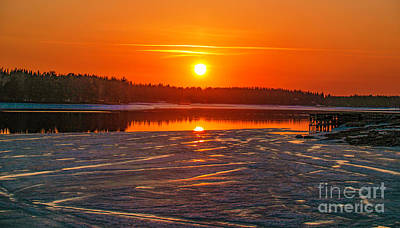 Just Desserts Rights Managed Images - Sunset Vandal Royalty-Free Image by Torfinn Johannessen