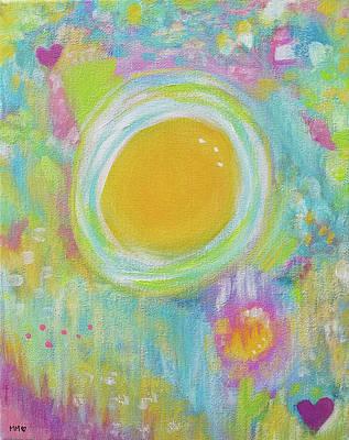 Painting - Sunshine in my Heart by Marieke Mertz