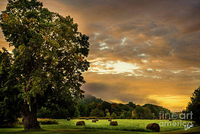 Photograph - Sunup at the Farm by Alana Ranney