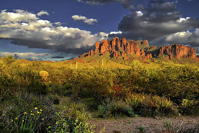 Michael Jackson - Superstition Mountains Clouds by Chance Kafka