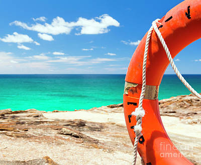 Royalty-Free and Rights-Managed Images - Surf Life Saver Float  by THP Creative