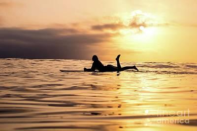 Open Impressionism California Desert - Surf Naked  by EliteBrands Co