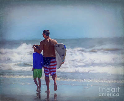 Mannequin Dresses - Surfer Dad and Son by RC- Photography LLC
