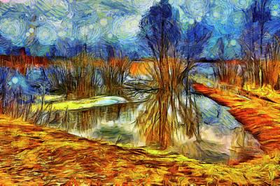 Surrealism Digital Art - Surreal landscape by Yuri Karminsky