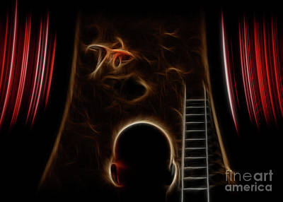 Featured Tapestry Designs - Surreal performance by Bruce Rolff