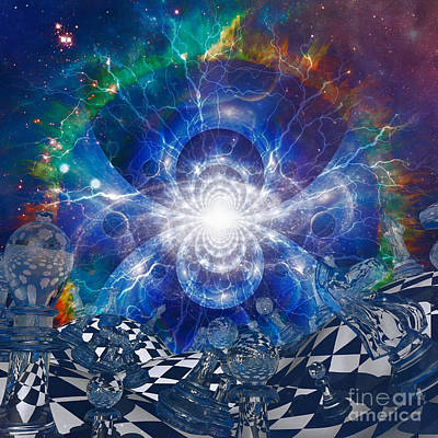 Surrealism Royalty-Free and Rights-Managed Images - Surreal Space Wonderland by Bruce Rolff