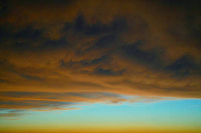 Surrealism Royalty-Free and Rights-Managed Images - Surreal Storm Edge by Ally White