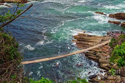 Bringing The Outdoors In - Suspension bridge in Tsitsikamma National Park, ,South Africa by Patricia Hofmeester