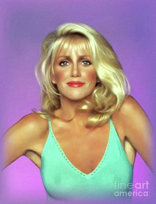Royalty-Free and Rights-Managed Images - Suzanne Somers, Actress by John Springfield