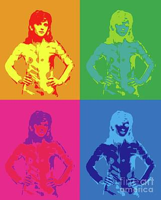 Royalty-Free and Rights-Managed Images - Suzy Quatro Pop Art by Esoterica Art Agency