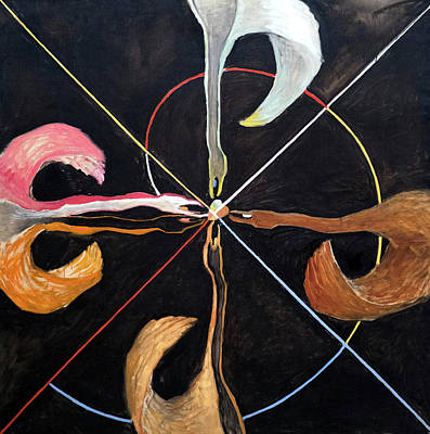 Traditional Bells Rights Managed Images - Swan 7 Royalty-Free Image by Hilma af Klint