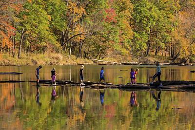 Photograph - Sweetwater Creek Reflections by Judy Garrard