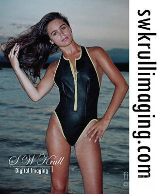 Steven Krull Royalty-Free and Rights-Managed Images - Swimsuit T-Shirt by Steven Krull