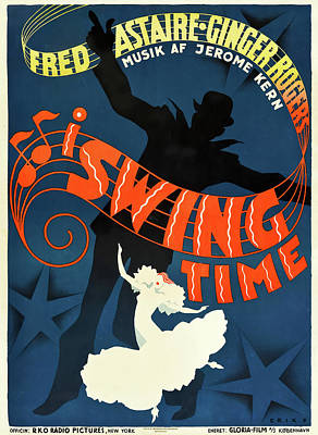 Royalty-Free and Rights-Managed Images - Swing Time, 1936 - c by Stars on Art