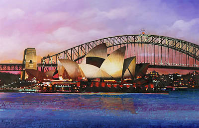 Royalty-Free and Rights-Managed Images - Sydney Opera House by Guido Borelli