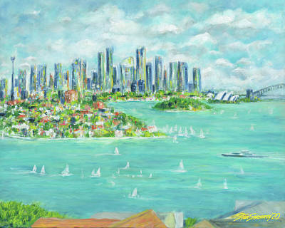 Painting - Sydney Vista by Stan Sweeney