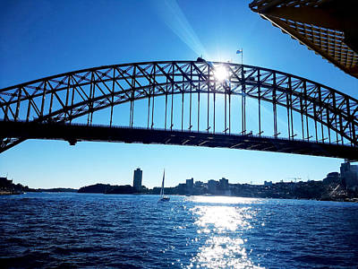 Book Quotes - Sydneys Bridge is Shining by Trace of Colour